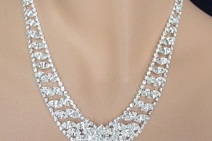Jewelry , 6 Crystal Necklace : Crystal Necklace Set - Swarovski Rhinestones