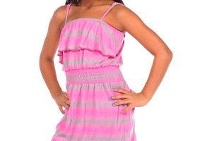 Fashion , 8 Vintage Style Dresses For Kids : Kids Dresses Pink Dress