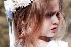 Hair Style , 6 Updos For Little Girls With Long Hair : ... Flower Girl Hairstyles crown Kids Flower Girl Hairstyles for Long Hair