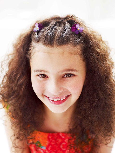 4 Girl Kid Hairstyles in Hair Style