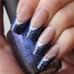Lace Nail Art Design , 8 Lace Nail Art Tutorial In Nail Category