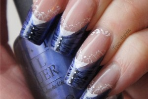 Nail , 8 Lace Nail Art Tutorial :  Lace Nail Art Design