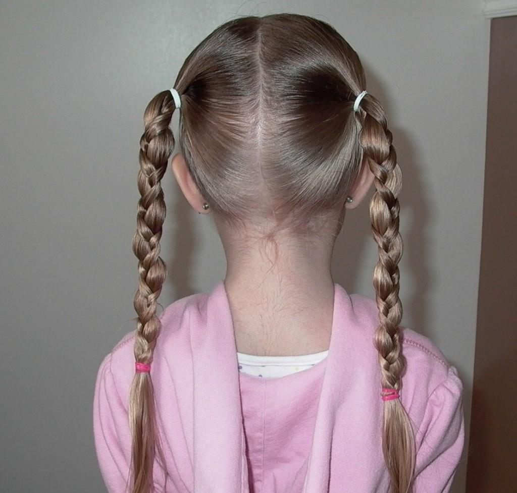 Pleasing Little Girl Braid Hairstyle Braids Hairstyles For Women Draintrainus