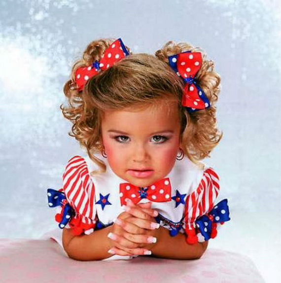 6 Little Girl Updos Hairstyle in Hair Style