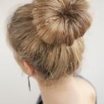 Mini braids in a bun , 6 Buns With Braiding Hair In Hair Style Category
