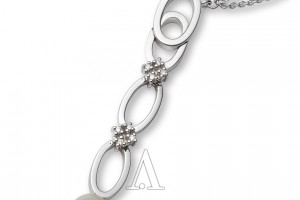 Jewelry , 11 White Gold Necklaces Women : Miore White Gold Necklace