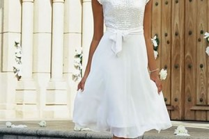 Wedding , 7 Vintage Short Wedding Dress : Modern Vintage Wedding Dresses