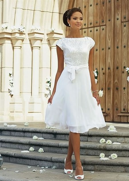 Modern Vintage Wedding Dresses : 7 Vintage Short Wedding Dress ...