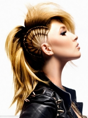 Hair Style , 6 Black Girls Mohawk Hairstyles : Mohawk Hairstyles Trends And Ideas For Girls (2)