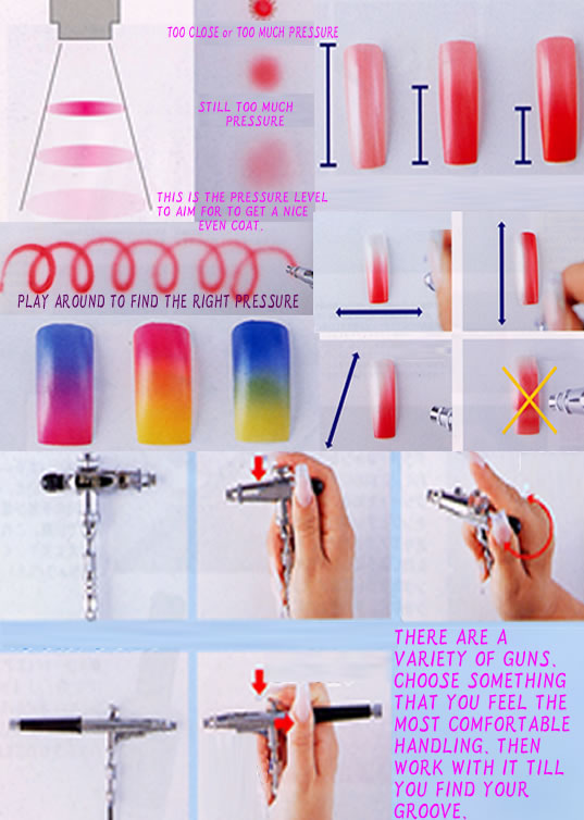 7 Nail Art Pen Designs Step By Step in Nail
