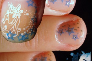 554x699px 6 Unicorn Nail Art Design Picture in Nail