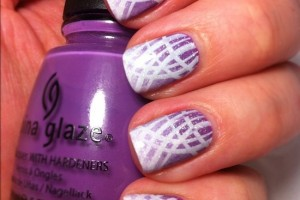 550x550px 6 Purple Prom Nail Designs Picture in Nail