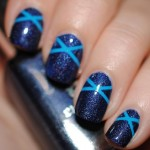 Blue Nail art , 6 Blue Prom Nail Designs In Nail Category