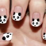 Panda Kawaii Nail Art , 5 Panda Nail Art Designs In Nail Category