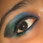 Peacock Eye Makeup Pictures , 7 Peacock Eye Makeup Tutorial In Make Up Category