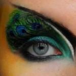 Peacock eye Makeup Idea , 7 Peacock Eye Makeup Tutorial In Make Up Category