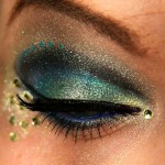 Peacock eye makeup , 7 Peacock Eye Makeup Tutorial In Make Up Category