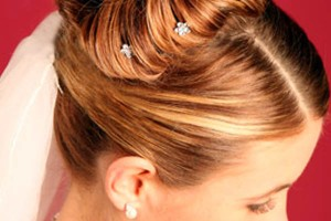Hair Style , 7 Bun Dos Hairstyles : Elegant Wedding Updos For Medium Length Hair | Updos for medium length ...