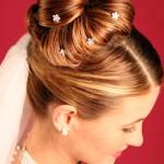 Elegant Wedding Updos For Medium Length Hair   Updos for medium length ... , 7 Bun Dos Hairstyles In Hair Style Category