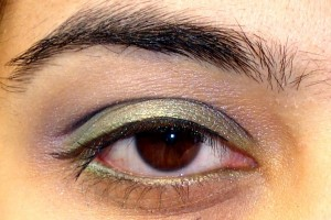 Make Up , 6 Peacock Eye Makeup Tutorial : Blue , Green, and a whiff of purple- Peacock colors