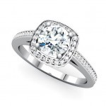 Platinum Diamond Ring , 10 Diamond Ring In Jewelry Category