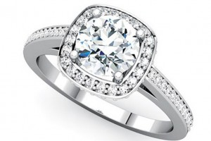 Jewelry , 10 Diamond Ring : Platinum Diamond Ring