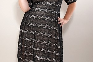 Fashion , 5 Vintage Style Dresses Plus Size : Plus Size Vintage Retro Dresses