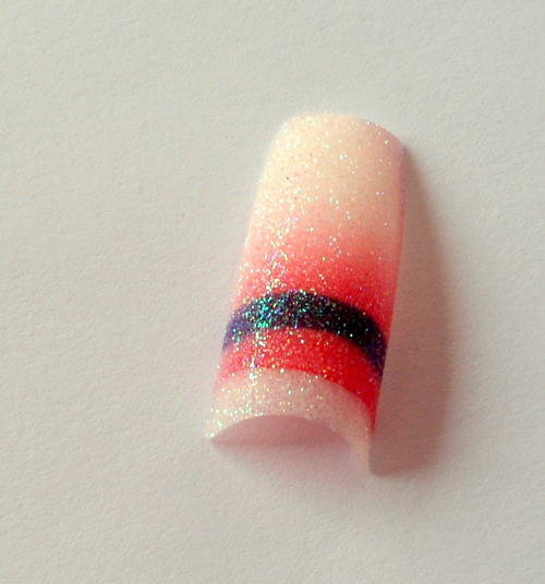 Nail , 6 Pre Designed Nail Tips : Pre Design Acrylic Nail Tips