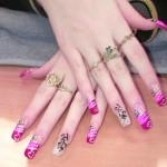 Pretty Nail Art Designs , 6 Artificial Nail Designs In Nail Category