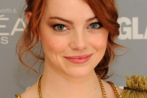 Hair Style , 6 Pretty Side Hairstyles : Pretty Red Loose Ponytail Hairstyle