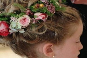 Hair Style , 5 Toddler Flower Girl Hairstyles : Pretty Toddler Hairstyles Flower