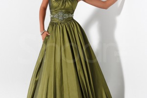 Fashion , 7 Green Vintage Prom Dress Designs : Prom Dresses Vintage Green Ball Gown