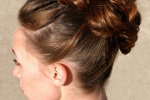 425x504px 6 Updo Homecoming Hairstyles Picture in Hair Style