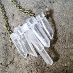 Quartz Crystal Spear Raw Rough Necklace , 7 Quartz Crystal Necklace Etsy In Jewelry Category