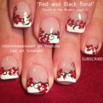 PROM NAILS robin moses red black and w… , 6 Red Prom Nail Designs In Nail Category