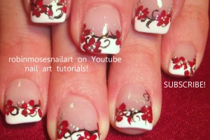 Nail , 6 Red Prom Nail Designs : PROM NAILS robin moses red black and w…