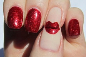 554x374px 7 Lips Nail Art Design Picture in Nail