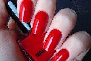 600x600px 6 Red Nail Polish Ideas Picture in Nail