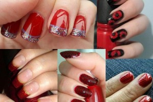543x486px 6 Red Nail Polish Ideas Picture in Nail