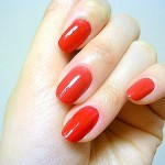 Red nail polish , 6 Red Nail Polish Ideas In Nail Category