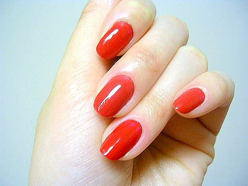 Nail , 6 Red Nail Polish Ideas : Red Nail Polish