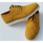 Retro Vintage Style Camel Leather Lace  , 6 Vintage Style Dress Shoes In Shoes Category