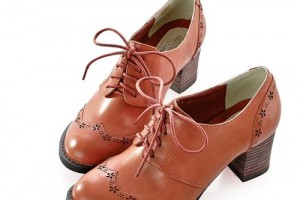 Shoes , 8 Vintage Style Dress Shoes : Rockabilly Fashion Dress Oxford Heels Shoe