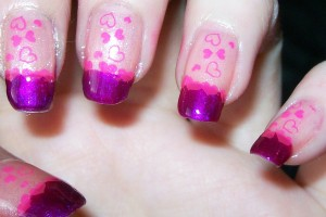 Nail , 6 Romantic Nail Art Design : Romantic Nail Art