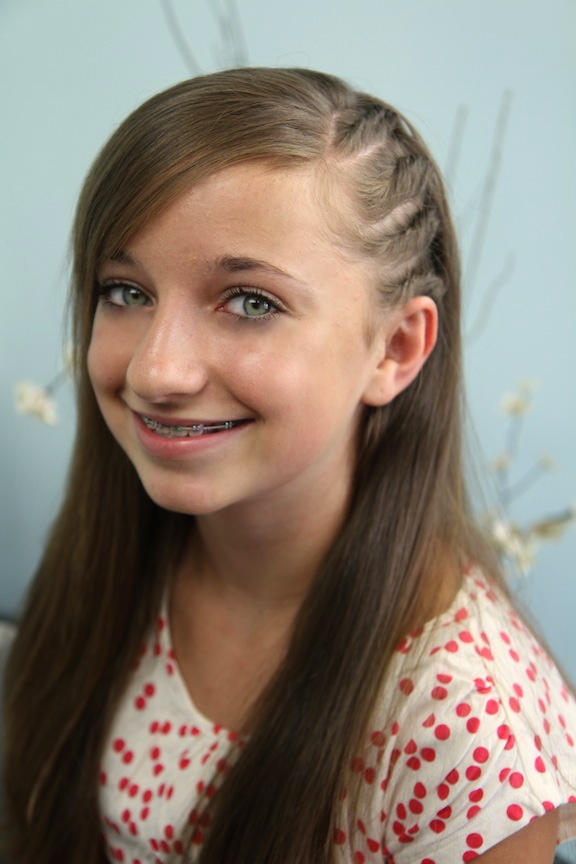 6 Hair Styles For School in Hair Style