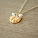 Seashell Cluster Necklace etsy , 12 Necklace Etsy In Jewelry Category