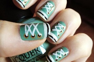 500x500px 10 Lace Nail Art Design Picture in Nail