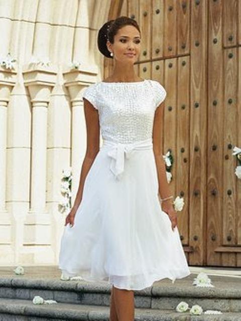 8 Vintage Short Wedding Dress in Wedding