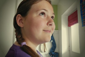 Hair Style , 7 Hair Braiding Styles For Little Girls : Side French Braid