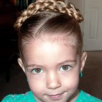 Side Pony with Twists , 5 Little Girls Twist Hairstyles In Hair Style Category